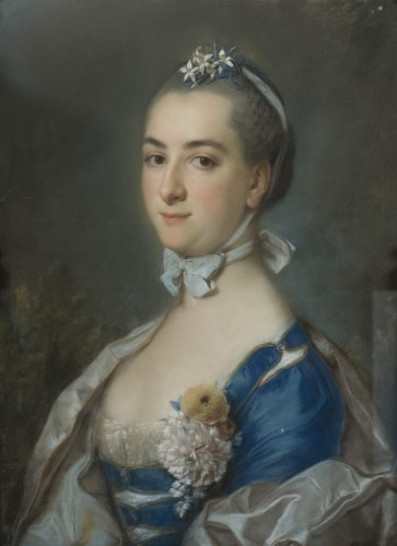 Paintings & Drawings  - Portrait of princess Anastasia Ivanovna Troubetzkaïa par A. Roslin