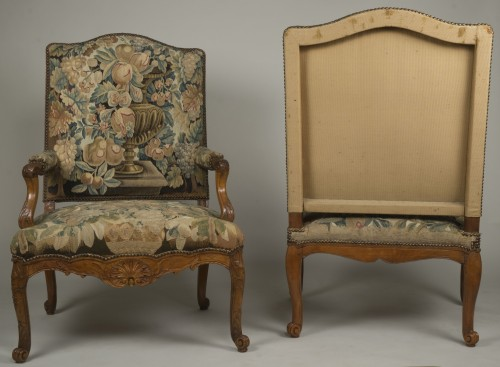 Antiquités - Pair of Régence armchairs
