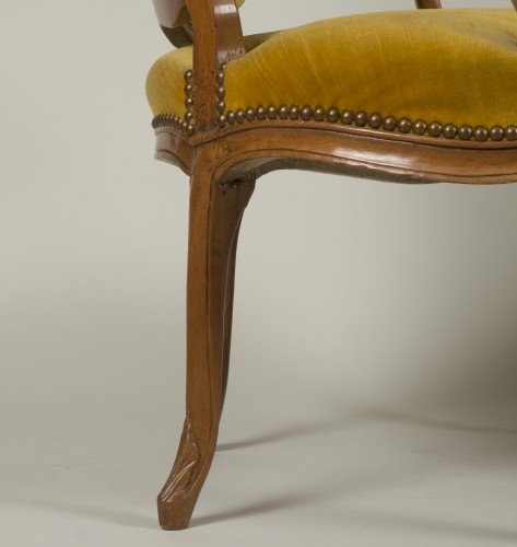 Seating  - Pair of Louis XV armchairs
