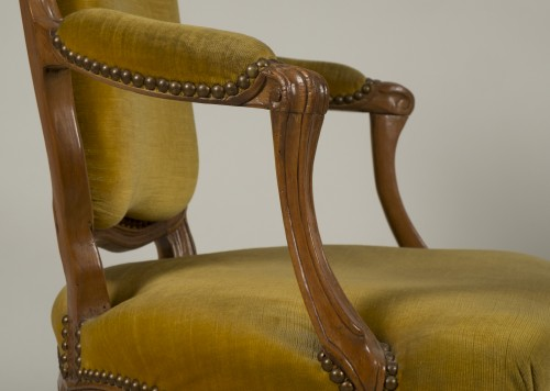 Pair of Louis XV armchairs - Louis XV