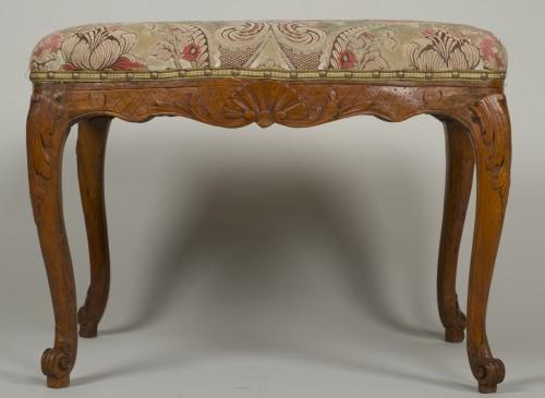 Seating  - Louis XV beech stool