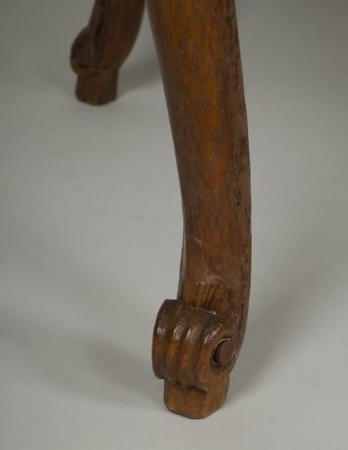 Louis XV beech stool -