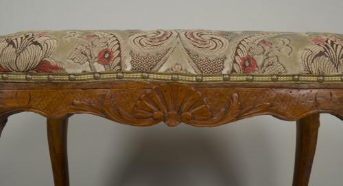 18th century - Louis XV beech stool