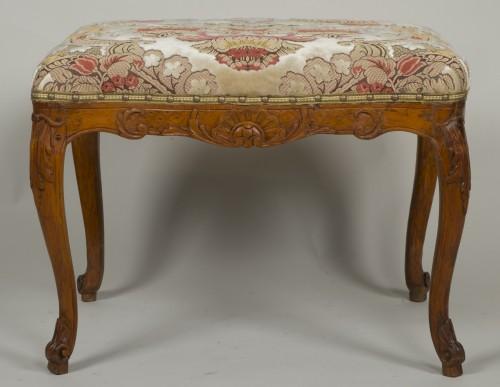 Louis XV - Louis XV beech stool