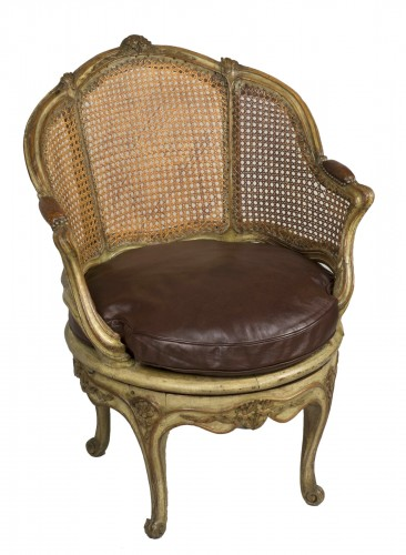 Exceptional chair attributed to Nogaret