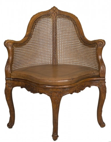 Louis XV chair attributed to E. Meunier