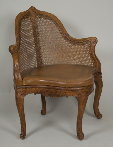 Louis XV chair attributed to E. Meunier - Seating Style Louis XV