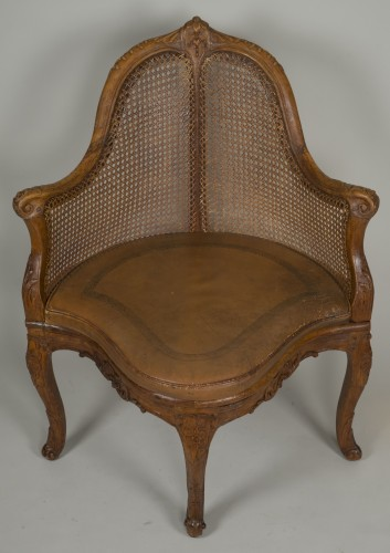 Seating  - Louis XV chair attributed to E. Meunier