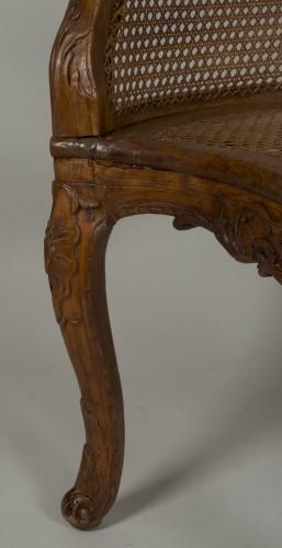 Louis XV chair attributed to E. Meunier -