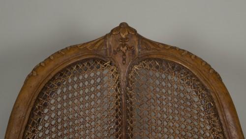 Louis XV chair attributed to E. Meunier - Louis XV
