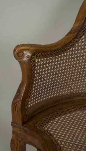 Louis XV - Louis XV chair attributed to E. Meunier