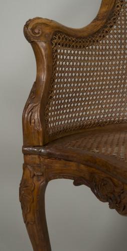 Antiquités - Louis XV chair attributed to E. Meunier