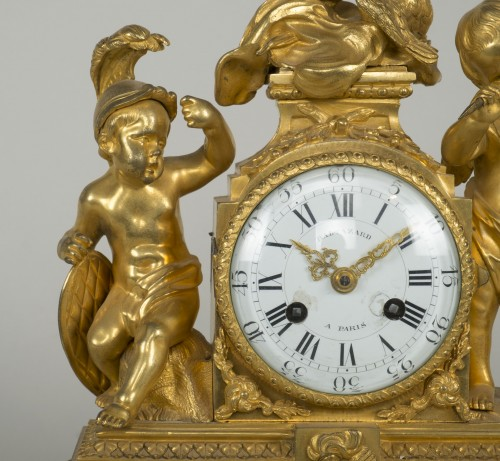 Louis XVI Small Clock - Louis XVI