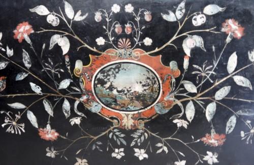 18th century - scagliole slab