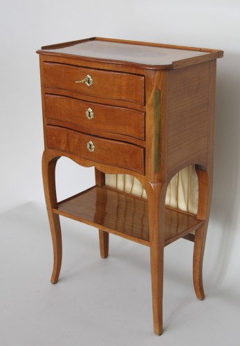 Furniture  - Table with screen stamped Hache Fils à Grenoble