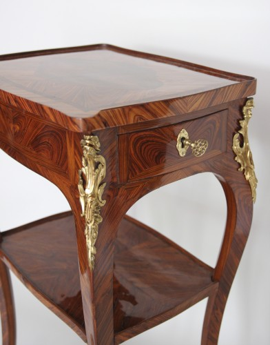 18th century - Table with screen stamped Migeon