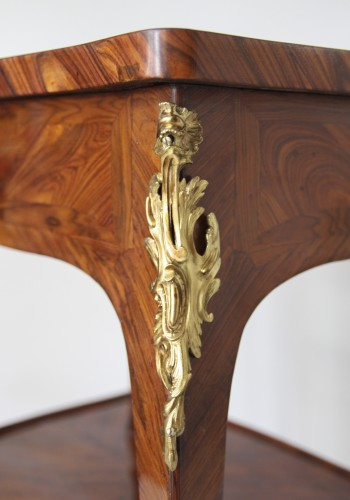 Table with screen stamped Migeon - Louis XV