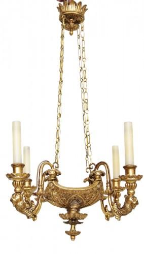 Neo classic italian chandelier