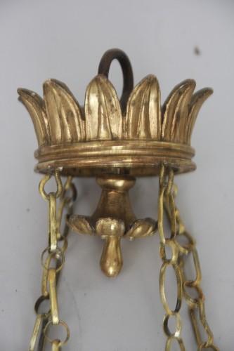 Antiquités - Neo classic italian chandelier