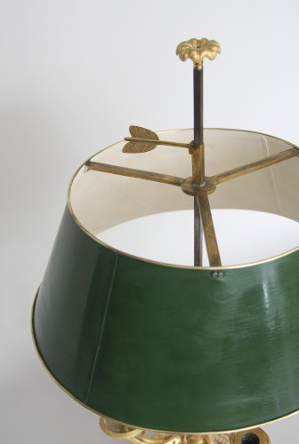 """Lighting  - A late 18th century """"Bouillotte"""" lamp"""