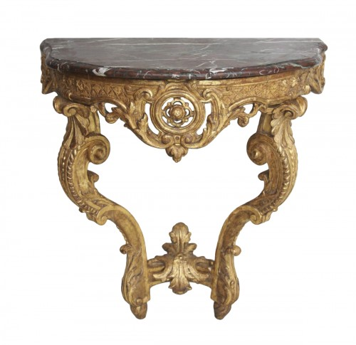 French Régence Gilt wood Console