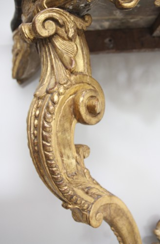 Furniture  - French Régence Gilt wood Console