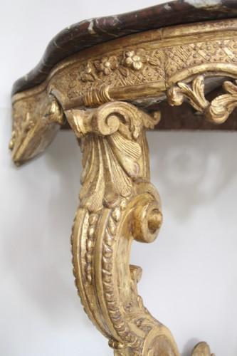 Antiquités - French Régence Gilt wood Console