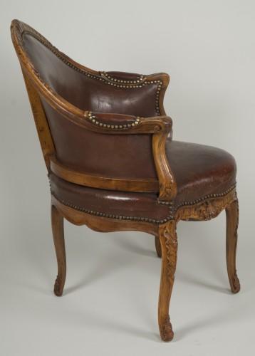"""Seating  - French Régence """"Fauteuil de Bureau"""""""