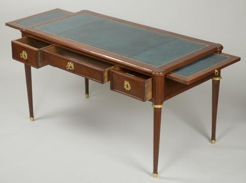 Louis XVI Mahogany Bureau plat -