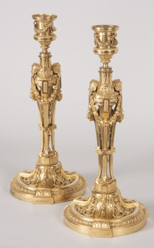 Pair of candlesticks after a model by Martincourt - Lighting Style