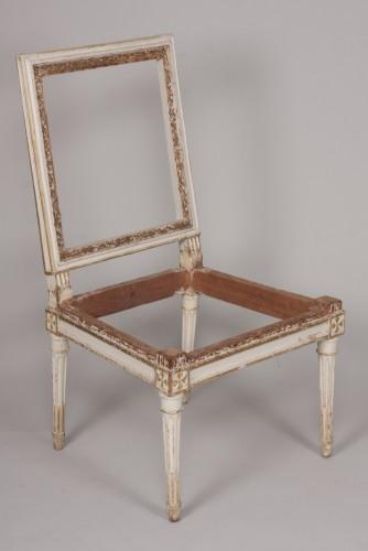 Set of four Louis XVI chairs - Seating Style Louis XVI