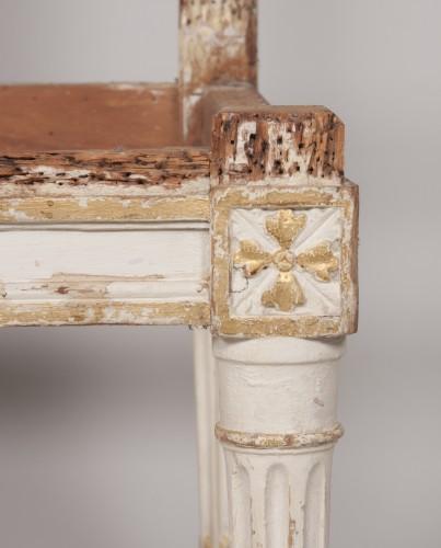 Antiquités - Set of four Louis XVI chairs