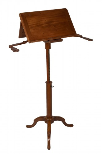 Pedestal Table Forming Lectern Attributed to Canabas