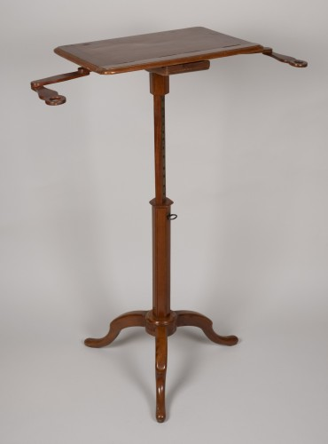Furniture  - Pedestal Table Forming Lectern Attributed to Canabas