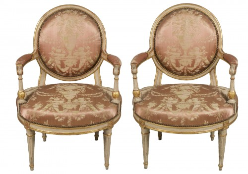 Pair Of Armchairs by Delaunay