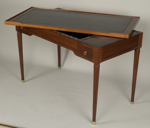 Louis XVI tric trac table attributed to Fidelys Schey -