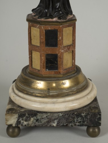 18th century - Pair of 18th century Italian candelabras