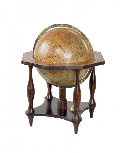 German terrestrial globe from the 19th century