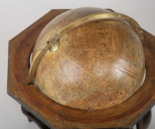 German terrestrial globe from the 19th century - Collectibles Style