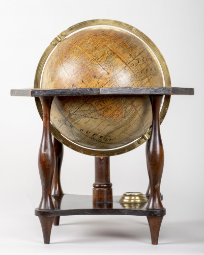 Collectibles  - German terrestrial globe from the 19th century