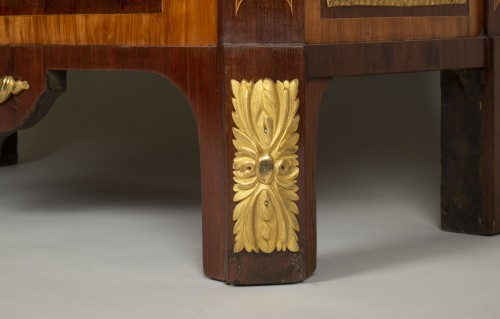 Furniture  - 18th Century Secretaire Abattant by Letellier