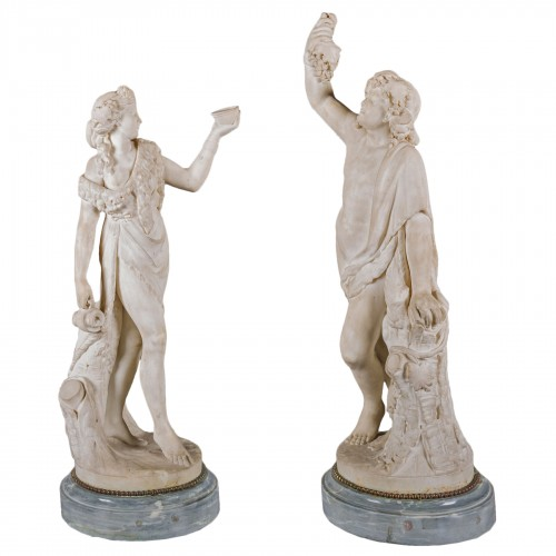 White Marble Bacchus & Bacchae