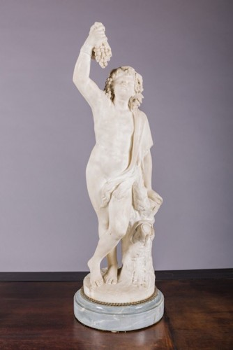 White Marble Bacchus & Bacchae - Sculpture Style