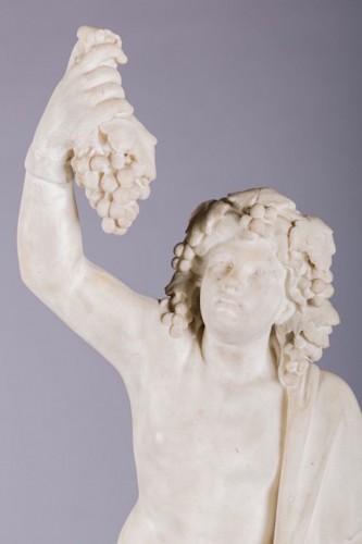 Sculpture  - White Marble Bacchus & Bacchae