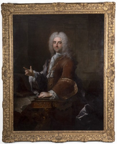 Robert LE VRAC TOURNIERES - Portrait of once called Duc de Saint-Simon