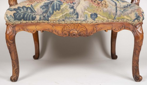 18th century - Pair Of French Régence Armchairs