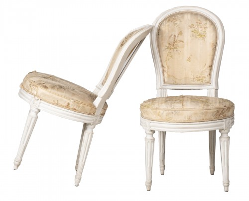 Pair Of Bedroom Chairs By Henri Jacob