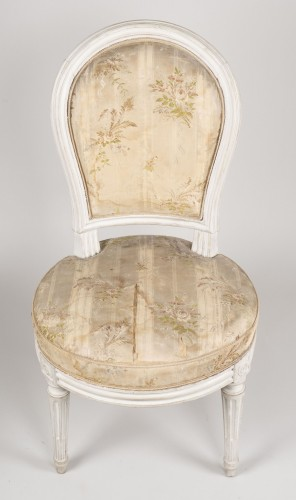 Pair Of Bedroom Chairs By Henri Jacob -