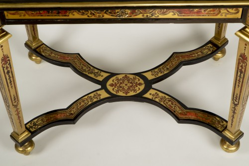 Louis XIV Boulle Marquetry Small Table - Furniture Style