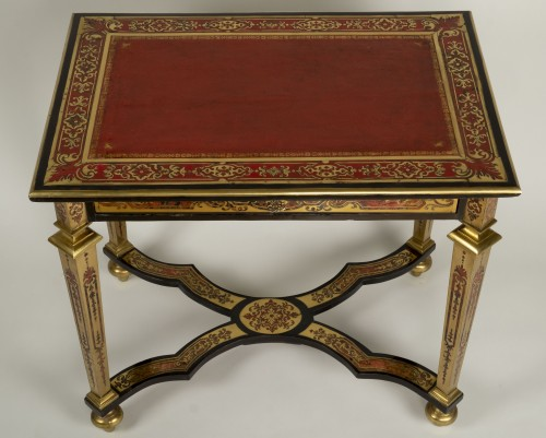 18th century - Louis XIV Boulle Marquetry Small Table
